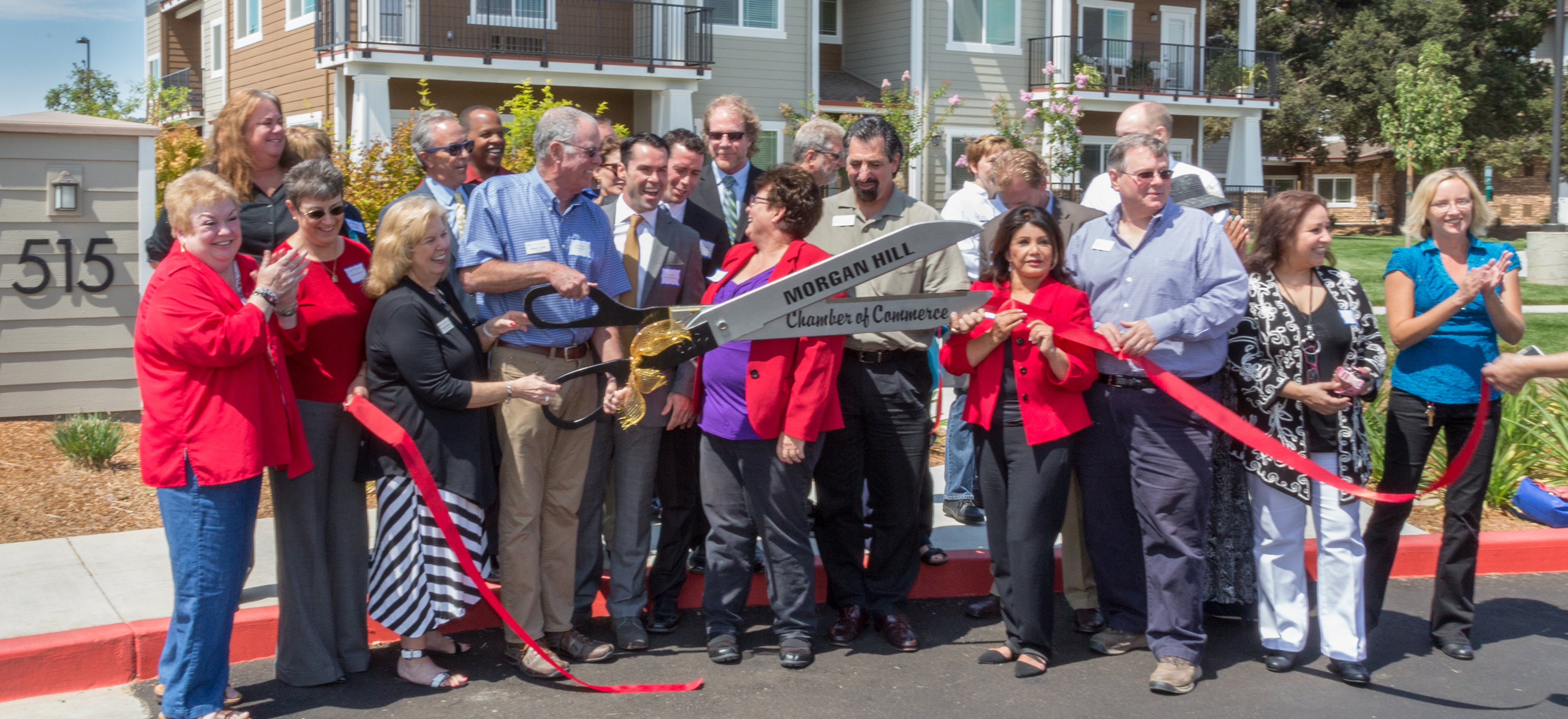 RibbonCuttingLodgeatMorganHill